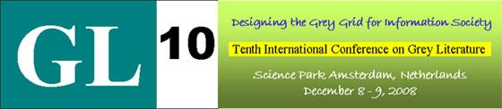 Tenth International Conference on Grey Literature