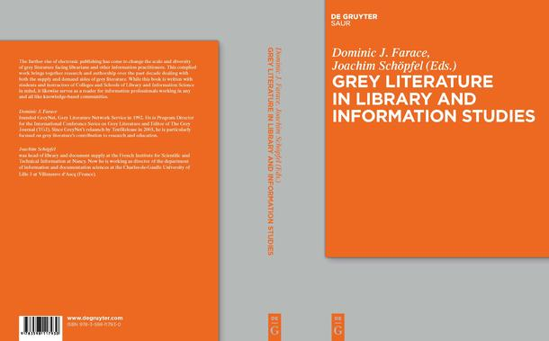 Book Cover Images Isbn : Grey literature in library and information studies